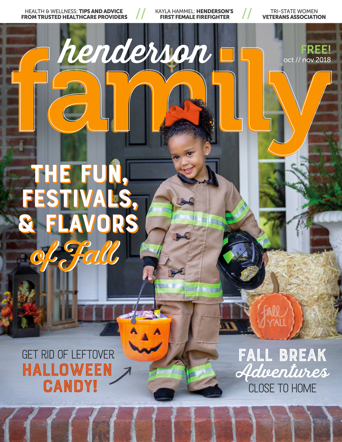 Henderson Family Oct/Nov 2018 Cover