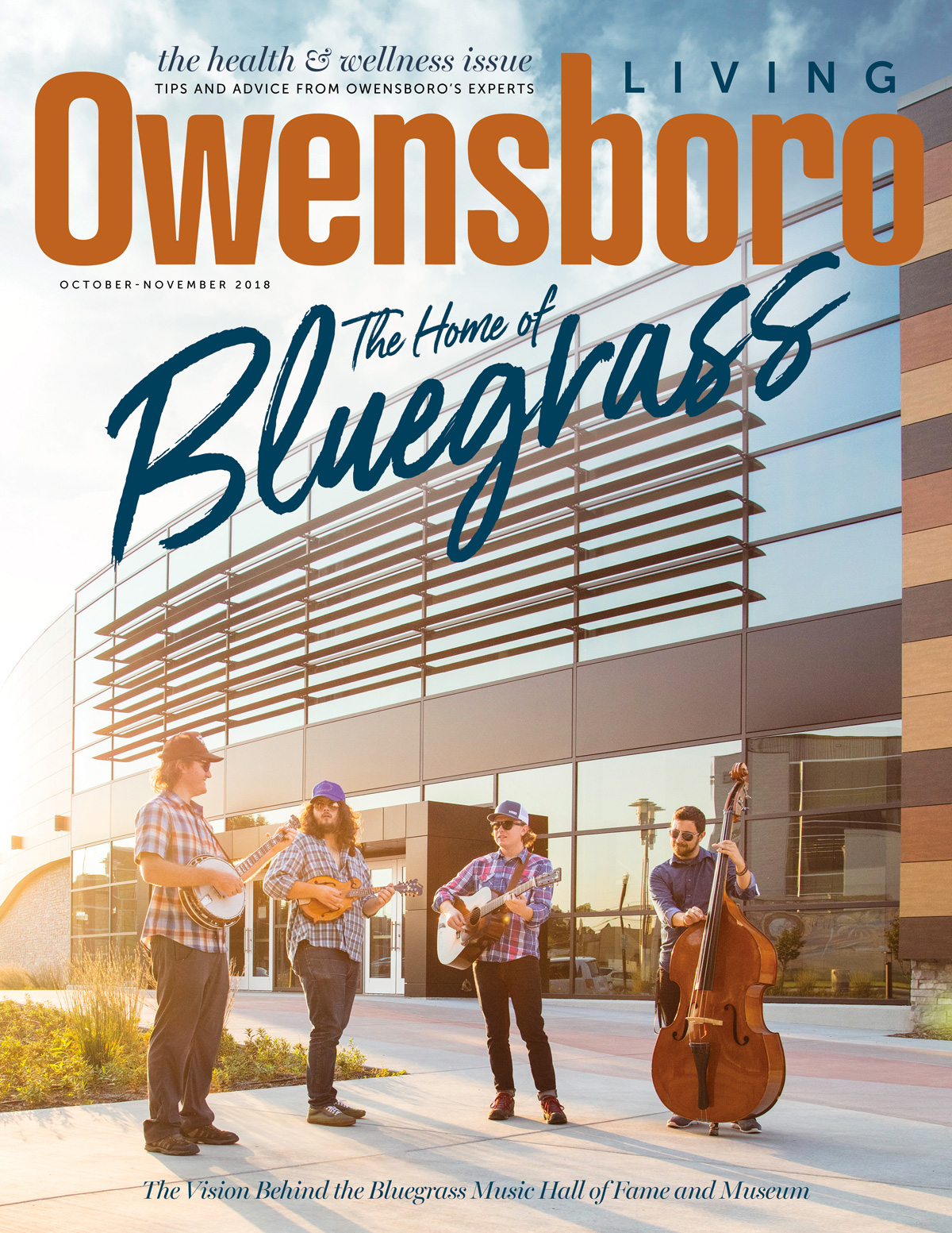 Owensboro Living Oct/Nov 2018 Cover
