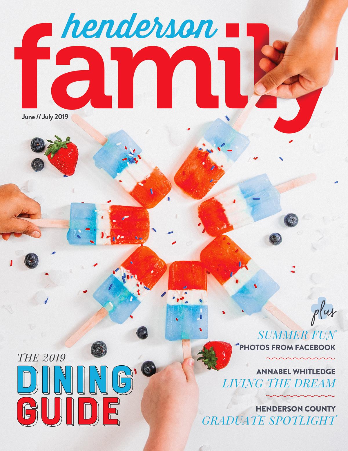 Henderson Family June/July 2019 Cover