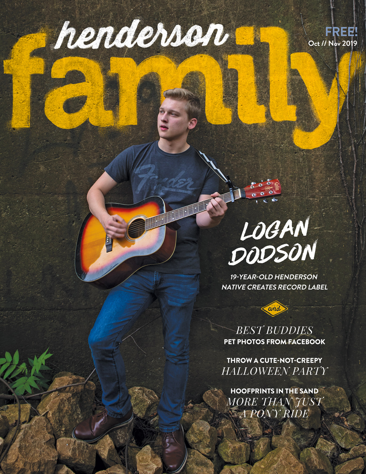 Henderson Family October / November 2019 Cover